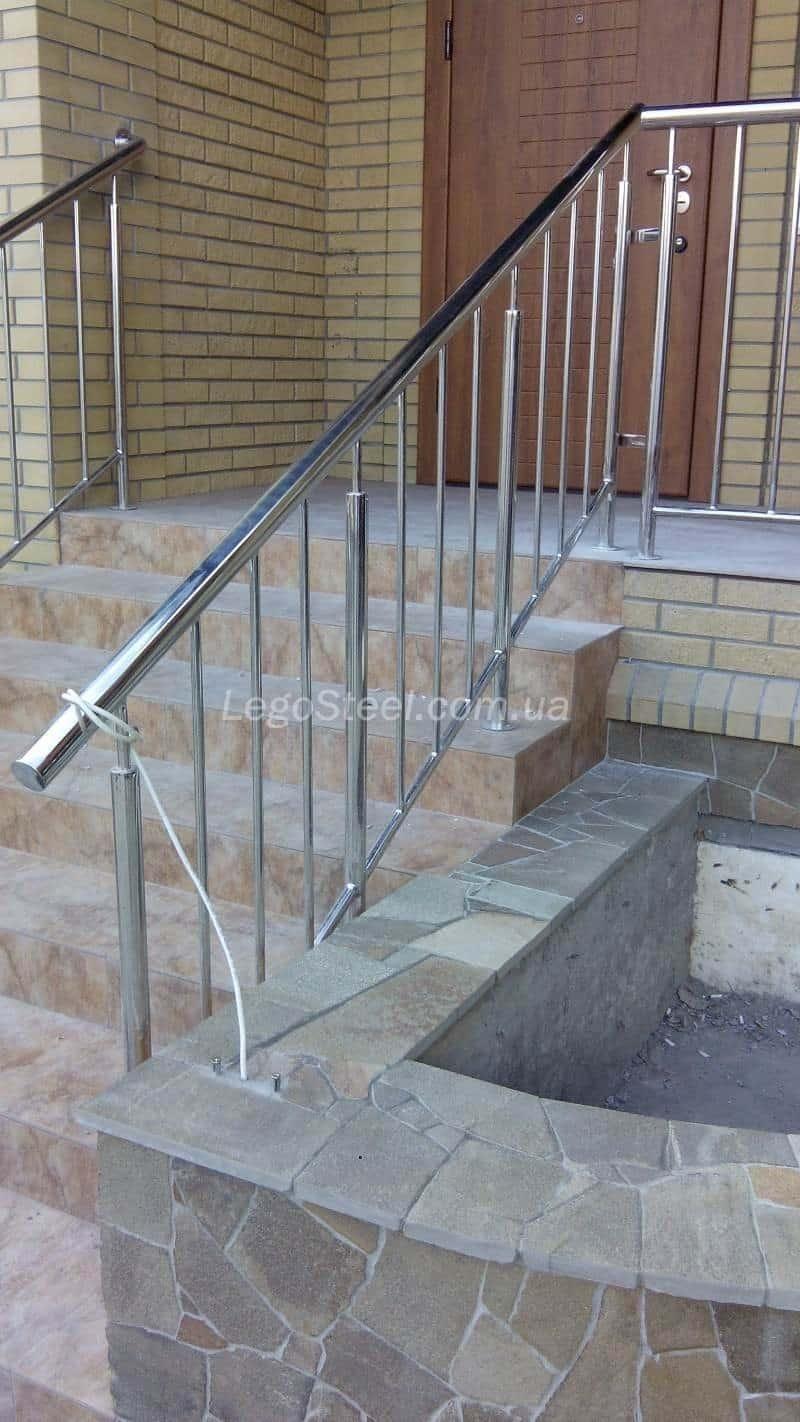 Перила для лестницы без ригелей